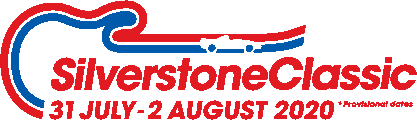 Silverstone Classic Logo Provisional 2020 Dates