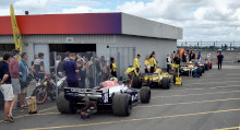 F1 cars at the Silverstone Classic