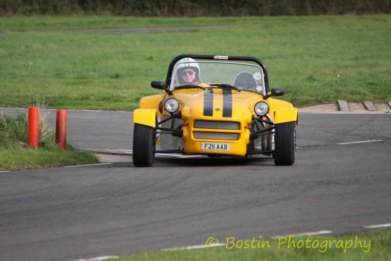 Quantum Xtreme on circuit at Curborough 2017 - photo by James Turner