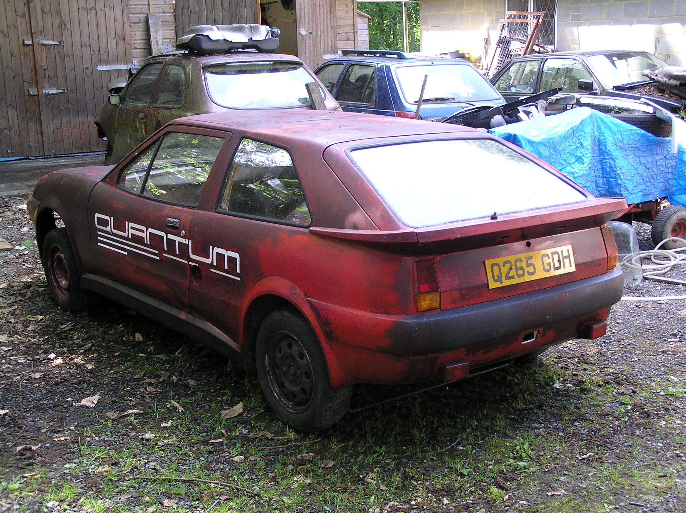 Quantum Coupé 003 needing TLC